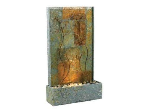 Kenroy Home 50379SL Copper Vines Outdoor Floor Fountain