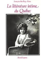 Littérature intime du Québec (La)