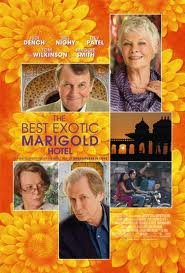 Best Exoctic Marigold Hotel Original 27 X 40 Theatrical Movie Poster