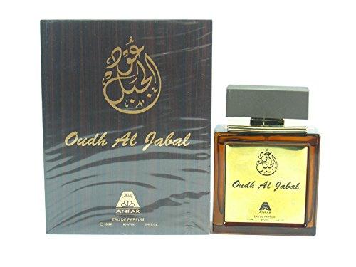 Oudh Al Jabal Parfum Spray 100ml EDP Halal Attar Anfar UAE Oriental  Fragrance