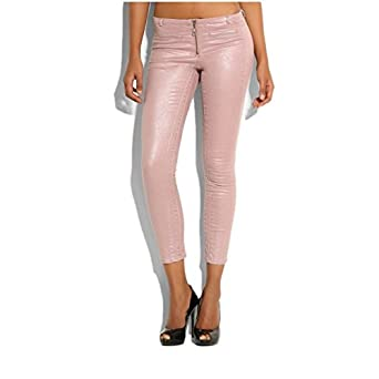 Pantalon Guess Skinny Melany Rose Couleur Rose Taille 29  Amazon.co ... 7f921435a52