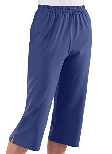 AmeriMark Knit Capris (3 X Womens Elastic)