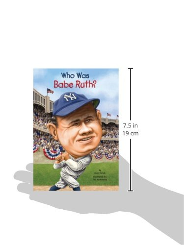 Who Was Babe Ruth? (Turtleback School & Library Binding Edition)
