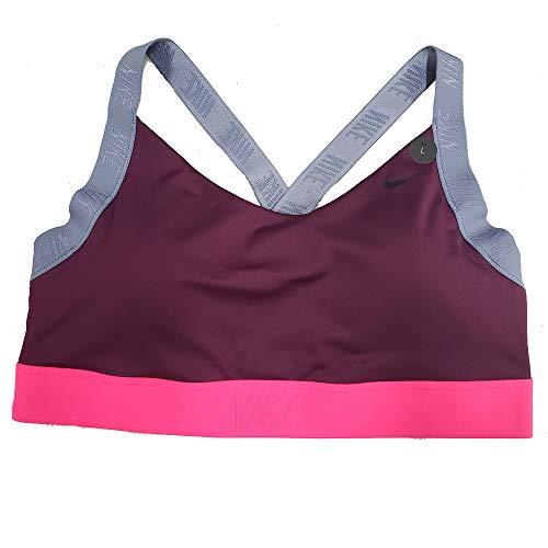 Fit Running Dri Bra Nike - Nike Pro Women's Indy Dri-Fit Light Support Sports Bra AJ4279 (Burgandy, s)