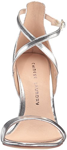 Chinese Women's Sandal Dress Me Silver Laundry Lavelle Dazzle OZr5Oqw