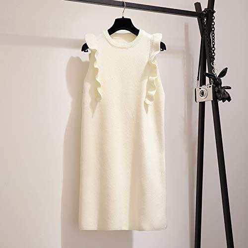 Otoño Vestido Dos Piezas Gzz Invierno Alta Punto length Suéter Traje Mujer De Mid Princesa Falda Para xl Cintura q56d6Sw