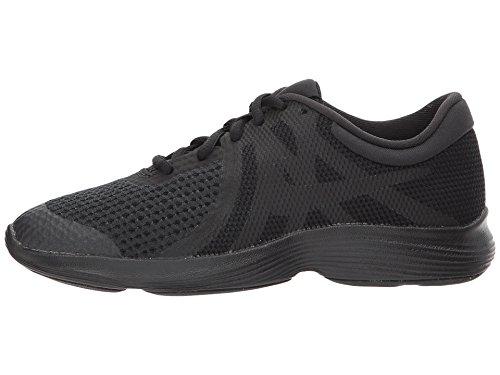 7y Running Boys Shoes - NIKE Boys' Revolution 4 (GS) Running Shoe, Black, 7Y Regular US Big Kid