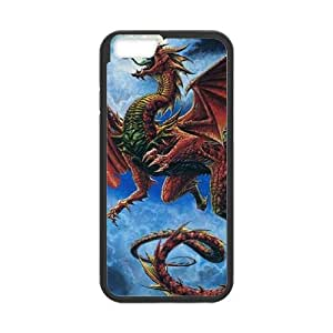 iPhone 6 4.7 Inch Cell Phone Case Black Wrath Of Red Dragon JNR2080802