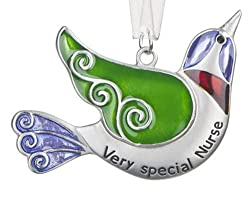 Ganz Bird of Happiness Ornament - Very Special Nurse