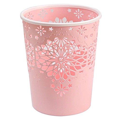 Kitchen FutureShapers Waterproof Waste Paper Bin Basket for Office 20 Bedroom,26 26m,Flamingo Type
