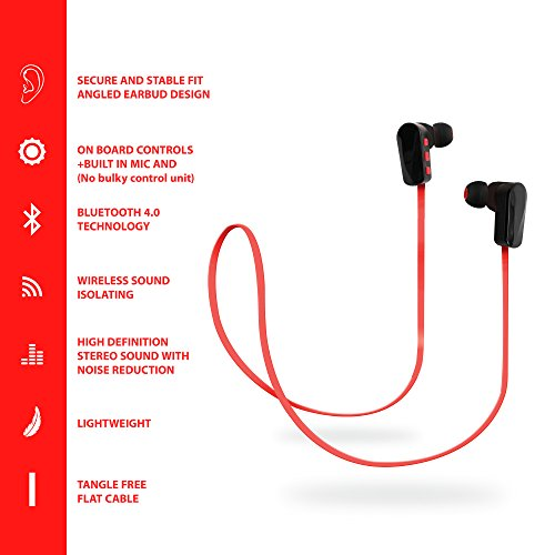 wireless earbuds jarv nmotion advance sports bluetooth. Black Bedroom Furniture Sets. Home Design Ideas
