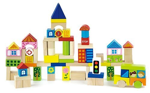 Original Toy Kids Children City Blocks