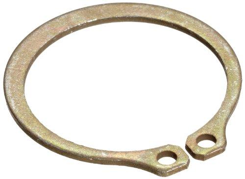 [해외]표준 외부 고정 링, 테이퍼 진 부분, 축 어셈블리, 1060-1090 탄소강, 아연 황색 크로메이트 도금 피니시, 7 16 샤프트 직경,/Standard External Retaining Ring, Tapered S