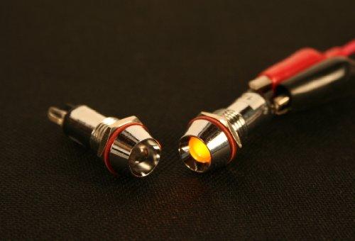 Pilotlights 12 Volt Dc Pilot Light 10mm Panel Indicator