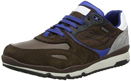 Geox Herren U Sandford B Abx Une Chaussure, Braun (