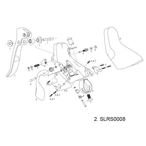 Amazon Com Sram Shifter Clamp Kit For All Road Shifters 09 11 Pair