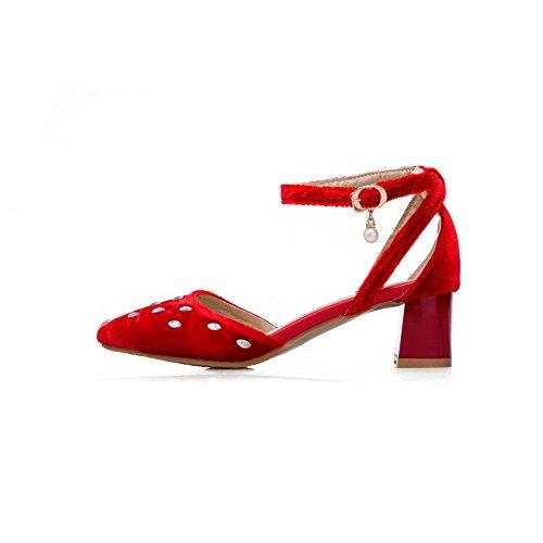 Cuña Sandalias Adeesu Red Mujer Con w1w8dxE