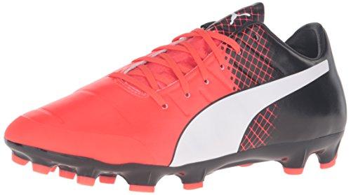 Puma Mens Evopower 2.3 Tricks Ag Voetbalschoen Rode Ontploffing / Puma Wit