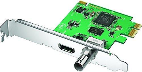 Blackmagic Design DeckLink Mini Recorder, PCIe Capture Card for 3G-SDI and HDMI