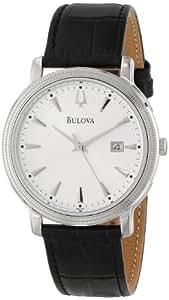 Bulova Men's 96B120 Silver Dial Strap Watch