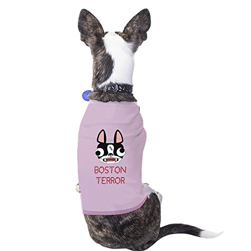 Boston Terrier Costumes (365 Printing Boston Terror Terrier Cute Graphic Dog Shirt Gift For Small Dogs)