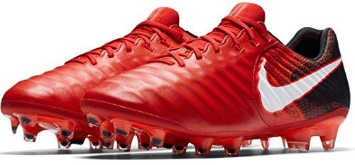 Nike Tiempo Legend VII, Men Football Shoes, Men, Black, Red, White, 42 EU