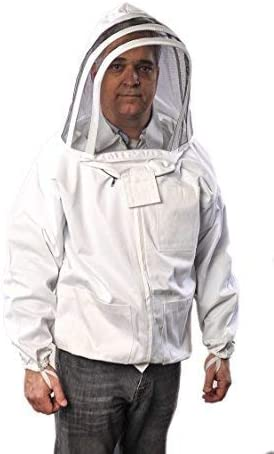 beekeeper beekeeping Best quality 100/% cotton jacket Fencing veil size xxl