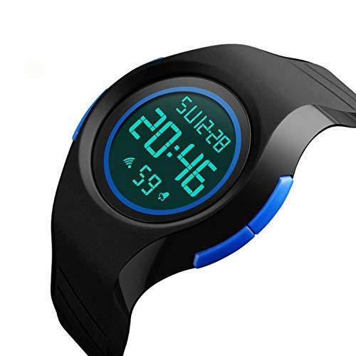 Reloj Digital Deportivo para niños y niñas, con Alarma, cronógrafo, Resistente al Agua, Reloj de Pulsera electrónico Deportivo para niños y niñas: ...