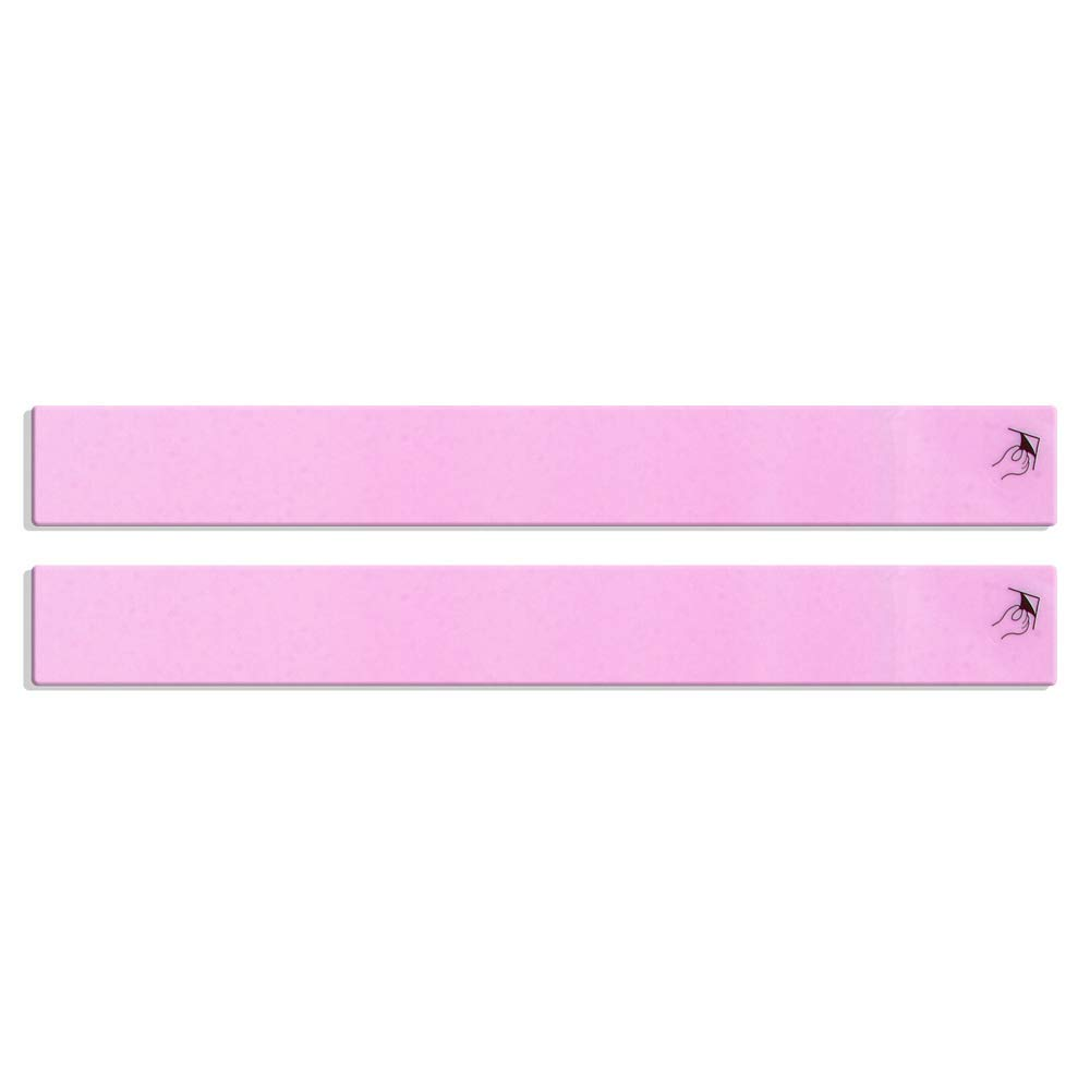 Epi-Derm Long Strip - 1.4 x 11.5 in - (1 Pair) (Clear) Silicone Scar Sheets from Biodermis