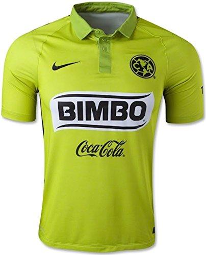 Nike Club America Third Stadium Soccer Jersey (Green) Medium (Club America Green Jersey compare prices)