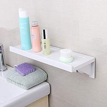Ecoco Badezimmer Regal Wandbehang, WC-WC Kunststoff Saugnapf ...