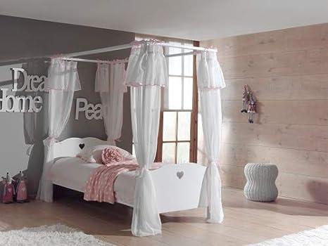 Vipack AMCO30 baldacchino letto con tessuto-tenda, 90 x 200 cm ...
