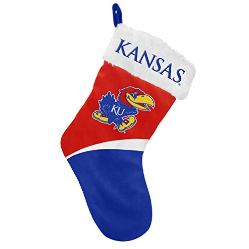 Kansas Jayhawks Basic Holiday Stocking - 2016 ()