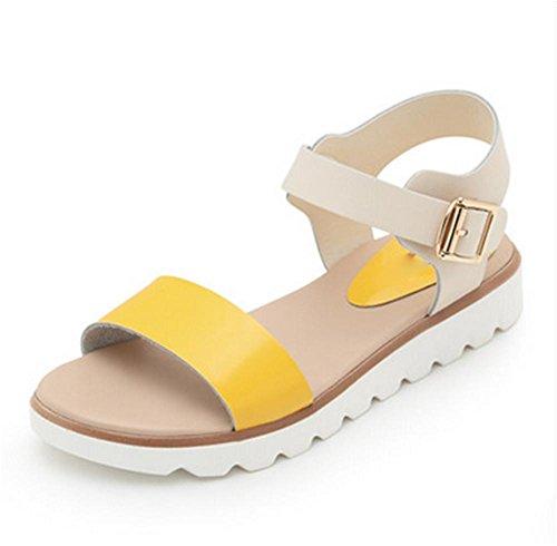 d'¨¦t¨¦ chaussures 4 chaussures chaussures femmes simples pengweiSandales enceintes antid¨¦rapantes plates TA8qx75