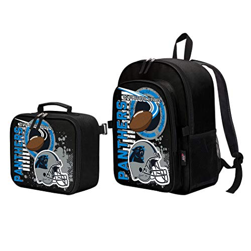 Carolina Panthers Nfl Backpack - Officially Licensed NFL Carolina Panthers