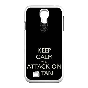Attack On Titan Samsung Galaxy S4 9500 Cell Phone Case White Exquisite gift (SA_542978)
