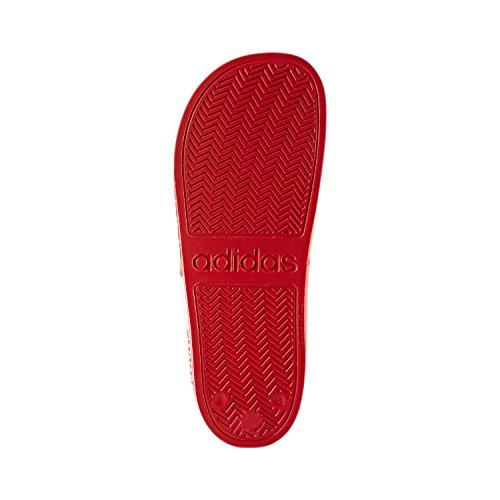 adidas Cf Adilette, Chanclas para Hombre Rojo (Escarl / Ftwbla / Escarl)