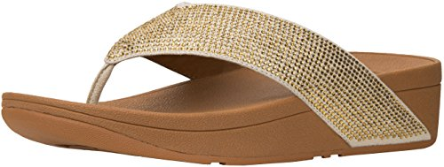 Fitflop Womens Ritzy Toe-Thong Gold v70l2ng6