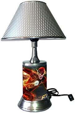JS The Flash Lamp with chrome shade, TV show