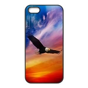 [H-DIY CASE] For Apple Iphone 5 5S -Cute eagle-CASE-10
