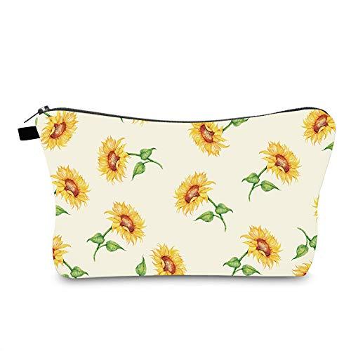 Jom Tokoy Hakuna Matata Makeup Bag Travel Case Cosmetic Bag (sunflower 1095)