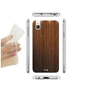 caselabdesigns carcasa funda blanda fortytwo efecto madera para Huawei Honor 7i TPU–Concha de silicona protectora antigolpes