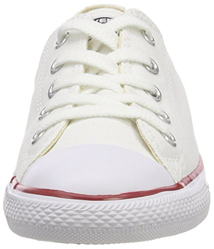 Ox As Femme Weiß White Converse Dainty Slip Baskets CT on Blanc FOn6xqxwt8