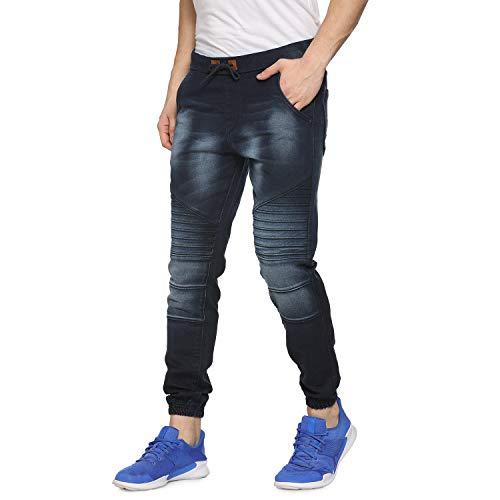 Campus Sutra Men Striped Denim Jeans