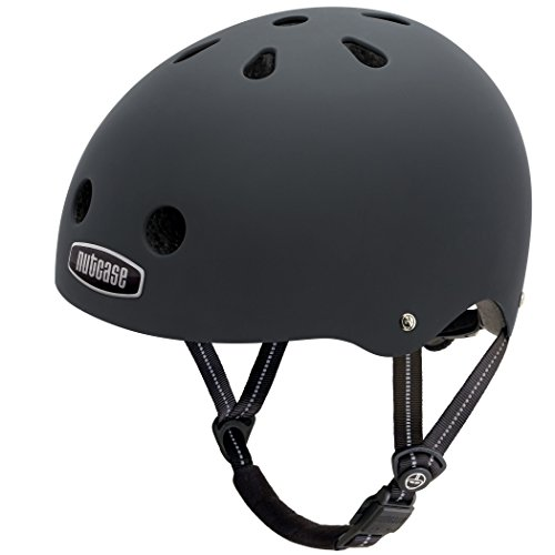 Nutcase Solid Street Bike Helmet for Adults
