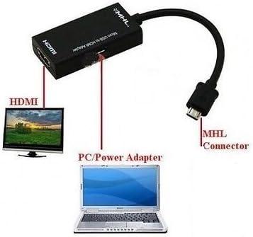 MHL HDMI cable adaptador para Huawei: Ascend D quad, Ascend P1 ...