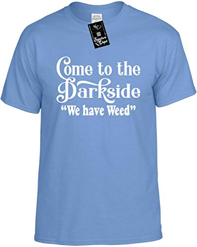 Signature Depot Mens Funny T-Shirt Size M (Come to The Dark Side WE Have Weed) Unisex Tee