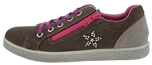 18614 33 de fille Marron 24 ville Chaussures à Lurchi lacets pour p5wdOqAp