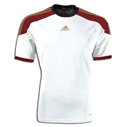 98b687861eac Amazon.com   adidas Soccer Uniform Jersey  adidas FC Boulder Custom Replica Soccer  Jersey White YS   Sports   Outdoors