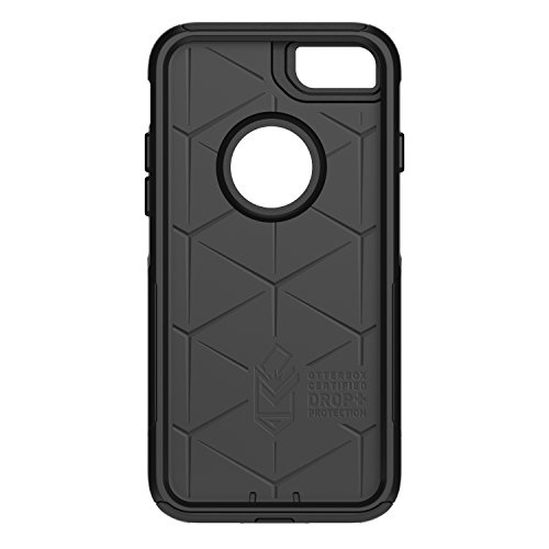 OtterBox COMMUTER SERIES Case for iPhone 8 & iPhone 7 (NOT Plus) - Retail Packaging - BLACK